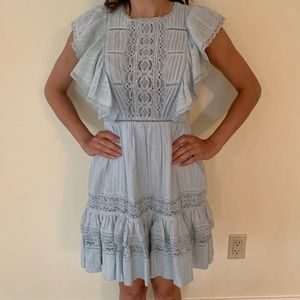 Romantic cotton summer dress